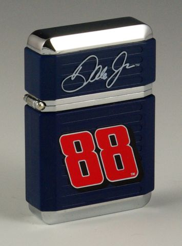 Dale Jr. #88 Blue Grip Lighter