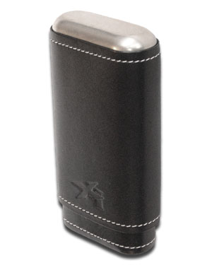 Xikar Black Envoy 3 Cigar Case