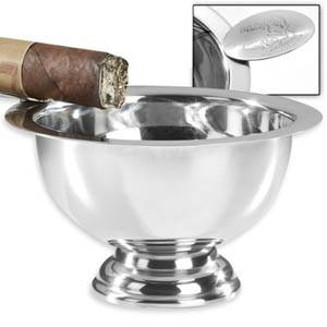 Stinky Personal Size Stainless Ashtray