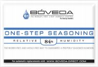 Boveda One Step Humidor Seasoning Packs