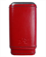 Xikar Red Envoy 3 Cigar Case