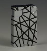 Cross Over Lighter - Chrome Silver w/ Black