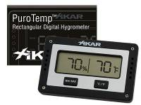 Xikar Puro Temp Rectangular Digital Hygrometer
